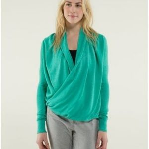 lululemon Cashmere Blend Twist & Wrap Sweater 10